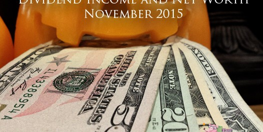 Dividend Income and Net Worth Report – November