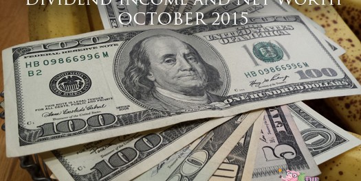 September Dividend Income & Net Worth Report
