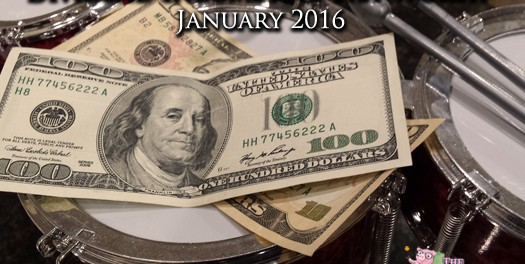 Dividend Income Report and Net Worth – January 2016
