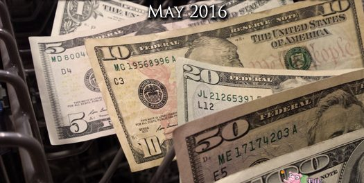 Dividend Income Report and Net Worth – May 2016