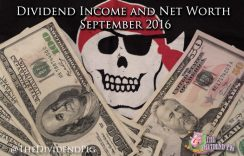 Dividend Income and Net Worth Report – September 2016