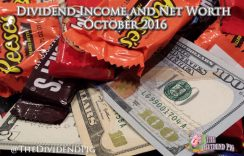 Dividend Income Investing and Net Worth Report – October 2016