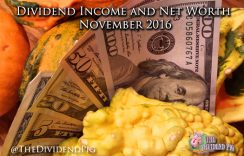 Dividend Investing Income – November 2016