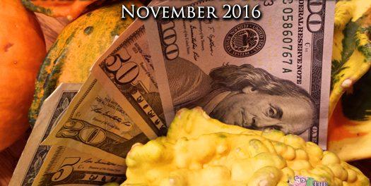 Dividend Investing Income – November 2016