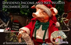 Passive Income Dividend Investing & Net Worth Report – December 2016