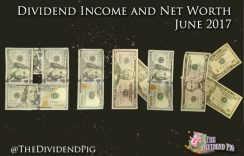 Monthly Dividend Income & Net Worth Report – June 2017