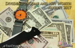 August Dividend Income & Net Worth Report – 2017