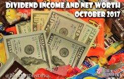 October Dividend Blog Income and Net Worth Report